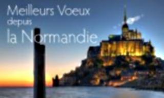 Meilleurs voeux depuis la Normandie