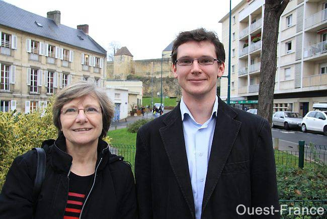 Sur la photo, Nicolas Joyau et sa suppléante, Corinne Martinet.